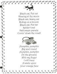 short halloween poems