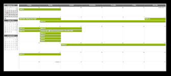 css monthly event calendar daypilot documentation scheduling