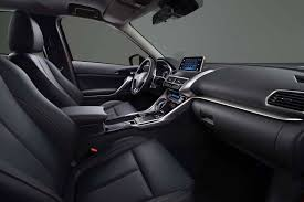 mitsubishi crossover interior mitsubishi eclipse cross revealed with new turbo 1 5l engine