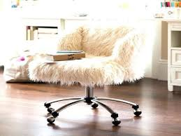 faux fur desk chair desk chairs white furry desk chair faux fur office top white fuzzy