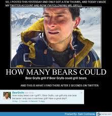 Bear Grylls Memes - man vs wild meme 100 images 22 best bear grylls memes smosh