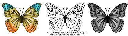 free butterfly designs to print cool tattoos bonbaden