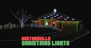 musical christmas lights huntersville christmas lights award winning musical display