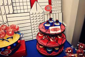 37 cute spiderman birthday party ideas table decorating ideas