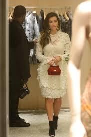 kim kardashian dolce gabbana white lace dress