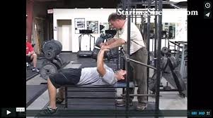 Starting Weight Bench Press Videos Starting Strength