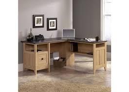 multi tiered l shaped desk sauder l shaped desk transit outlet collection multi tiered 12 h 34
