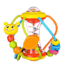 baby toy rings images Coolecool lovely worm rattle toys baby toys 6 to 12 months with jpg