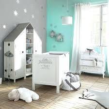 décoration chambre bébé garçon deco chambre bebe garcon guirlande nuage enfant en coton grise l