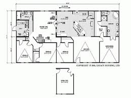 double wide mobile homes floor plans trends and 4 bedroom home