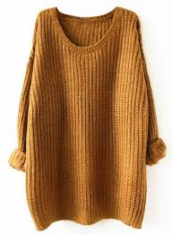 oversized chunky knit sweater oversized scoop neck fit chunky knit sweater oasap com