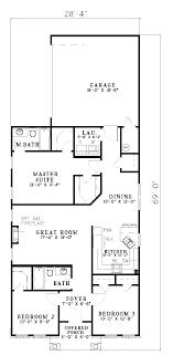 lake home plans narrow lot apartments house plans for narrow lots superb home plans for