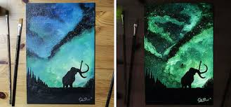 10 amazing examples of glow in the dark art oddee
