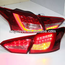 2014 ford focus tail light 2012 2014 year for ford for focus 3 sedan led strip rear light for