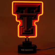 texas tech neon light texas tech red raiders team logo neon light