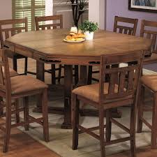 chapman rustic table with leaf counter height tables