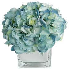 silk hydrangea rg style artificial silk hydrangea floral arrangements in