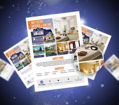 real estate advertising flyer open house template editable real