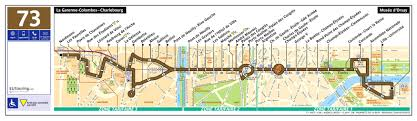 Bus Route Map by Ratp Route Maps For Paris Bus Lines 70 Through To 79