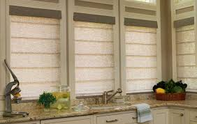 Tweed Roman Blinds Light Filtering Roman Shades Home Decorating Interior Design