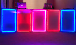 portable interactive led dj panels elemental led