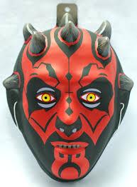 Darth Maul Halloween Costume Star Wars Darth Maul Halloween Mask Rubies Lucasfilm Scifi Comic