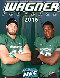 2016 wagner college football media guide by wagner college