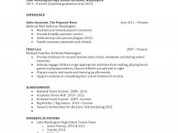 download basic resume templates for high students