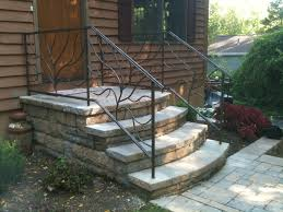 signature tree branch style railing wrought iron outdoor