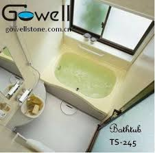 small bathtub size ts 245 gowell china manufacturer
