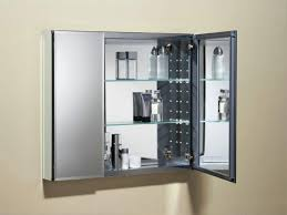 double door mirrored bathroom cabinet furniture for bathroom decoration using double door clear glass