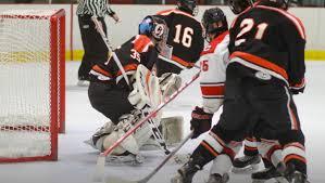 rhs boys hockey team takes on darien in state tournament