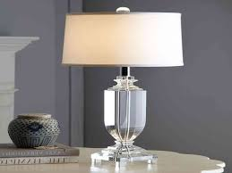 diy crystal table lamps boundless table ideas