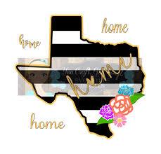 texas svg dxf png pdf zip file texas black white stripe home