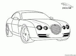 coloring page jaguar uk