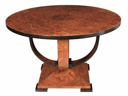 1930 Dining Table Furniture Tables New Deco Burr Walnut Dining Table