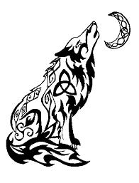 howling wolf tribal by valsharessa on deviantart