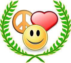 peace love and happyness award black white christmas xmas peace on
