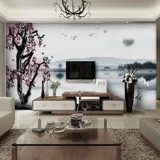 beautiful modern family rooms decorated with a landscape view