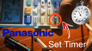 panasonic fan delay timer switch how to set timer on and off panasonic remote controller youtube