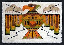 Latch Hook Rugs Rug Hooking Wikipedia