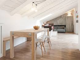 Attic Apartment by Modern Attic Apartment In Bologna With Custom Designed Elements