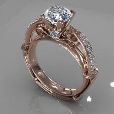 model wedding ring diamond ring creative 011 by jewelrycadcam168 3docean