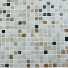 Mosaic Tile Square Patterns Bathroom Wall Marble Kitchen - Square tile backsplash