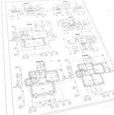detailed architectural plan floor plan layout perspective view