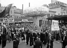 Santa Claus Parade In Central Tokyo Photos And Images Getty Images by Japan In The 1950s The Atlantic