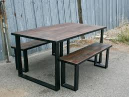 Diy Industrial Dining Room Table Articles With Industrial Dining Room Table And Chairs Tag Compact