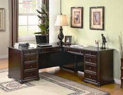 Black Wood Desk Modern Wooden Corner Desk Furniture For Home Offices Bedroom Ideas
