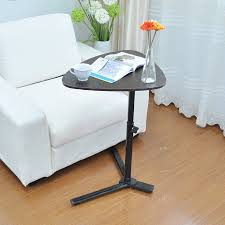 walnut portable laptop stand desk hospital sofa bed tray table
