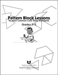 pattern shapes the math learning center